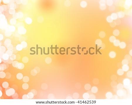 magic background lights - stock photo
