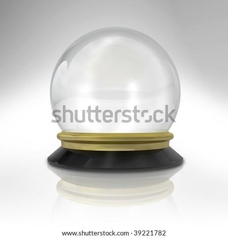 magic ball - stock photo