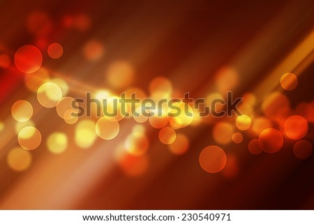magic bokeh on hot stripe line abstract background