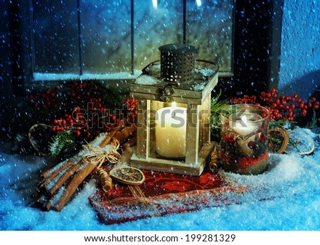 magic Christmas - stock photo