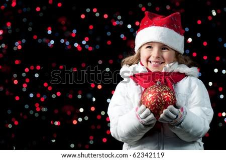 Magic Christmas night - stock photo