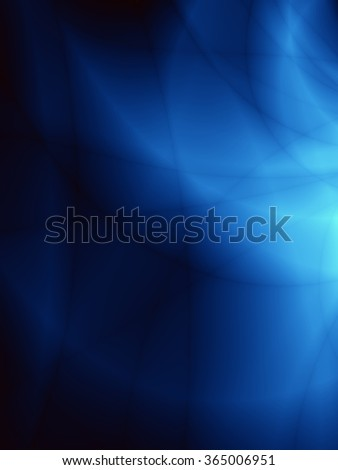 Magic fantasy abstract force blue flame background - stock photo