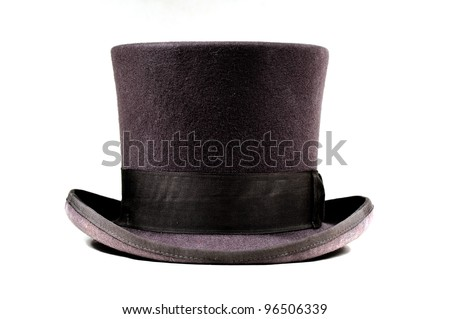 Magic Hat in Brown - stock photo