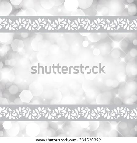 Magic light holiday background. - stock photo