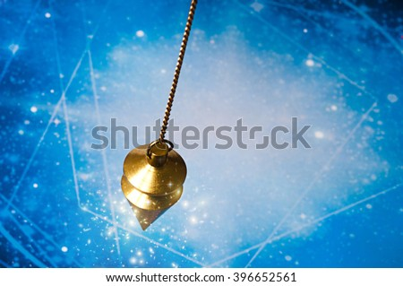 magic pendulum - stock photo
