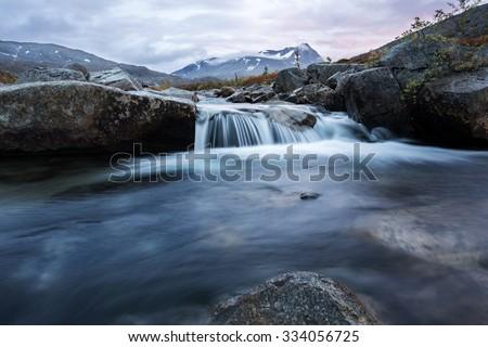 Magic River - stock photo