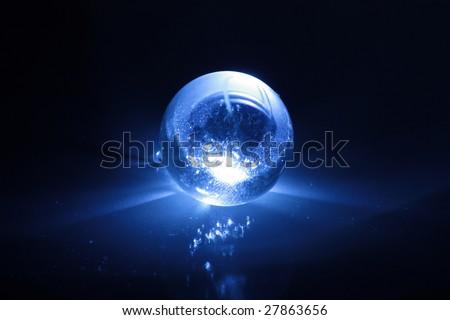 magic sphere 1 - stock photo