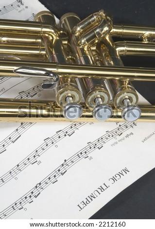 Magic Trumpet - stock photo