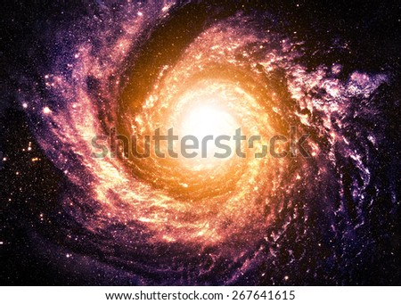 Magical Wormhole - Elements of this Image Furnished by Nasa - stock photo