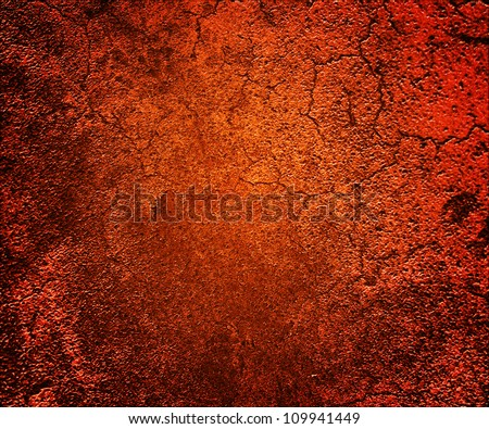 Magma Texture - stock photo