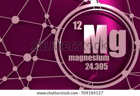 Magnesium chemical element sign atomic number stock illustration magnesium chemical element sign with atomic number and atomic weight chemical element of periodic urtaz Gallery