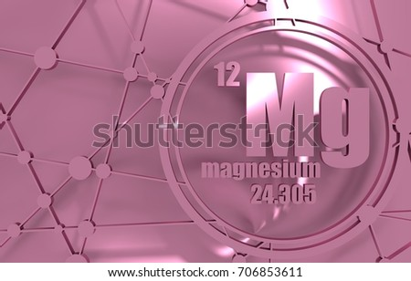Magnesium chemical element sign atomic number stock illustration magnesium chemical element sign with atomic number and atomic weight chemical element of periodic urtaz Images