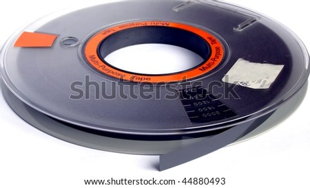 Magnetic tape reel for computer data storage - (16:9 ratio)