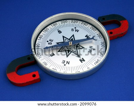 Magnets and compass