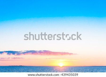Magnificent View Night is Coming  - stock photo
