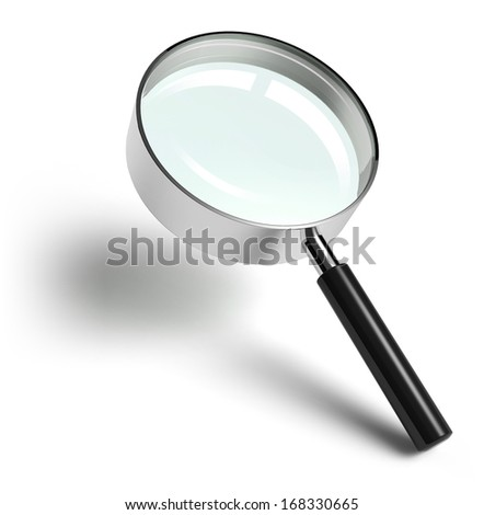 Magnifying Glass - stock photo