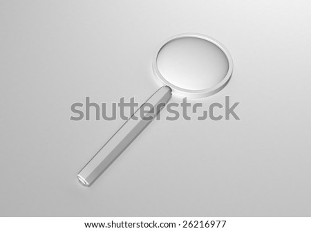 Magnifying Glass (background) - stock photo
