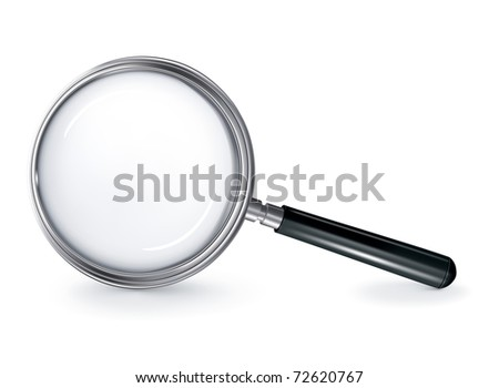 Magnifying glass, bitmap copy