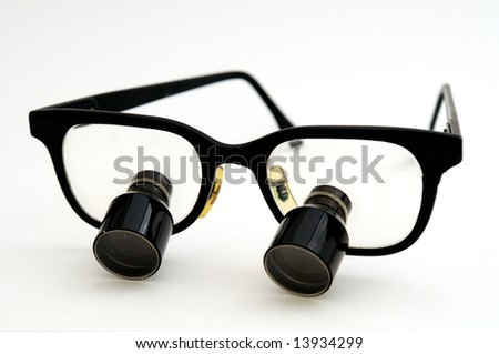 magnifying glasses - stock photo