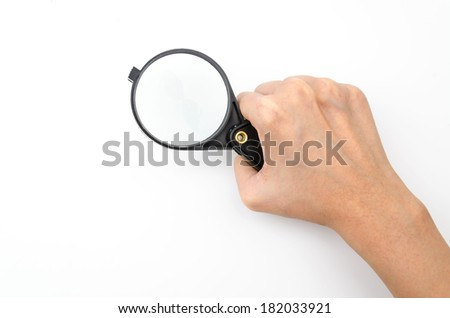 Magnifying isolated