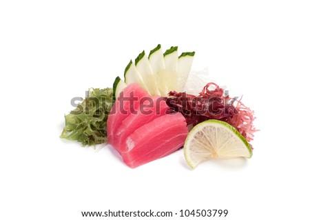 Maguro sashimi - stock photo