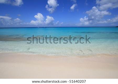 Maho Bay, Saint Maarten Island, Dutch Antilles