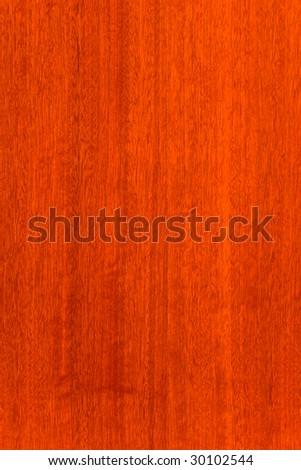 Mahogany structure - stock photo