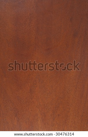 Mahogany veneer in rich red browns - stock photo