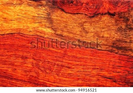 Mahogany Wood Grain Pattern. - stock photo
