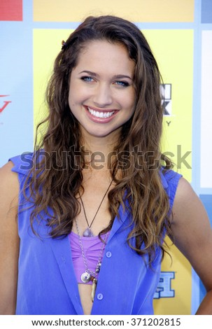 Maiara Walsh at the Variety's Power Of Youth held at the Paramount Studios in Hollywood, USA on September 15, 2012.