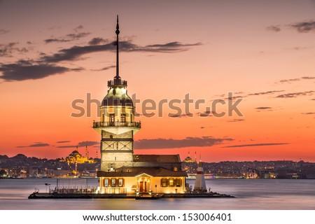 Maiden's Tower - stock photo