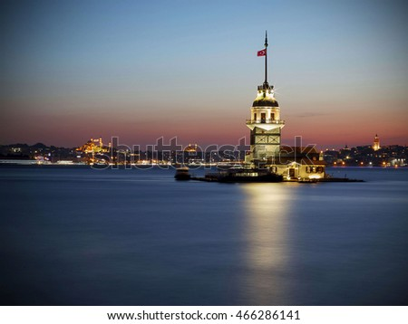 Maidens Tower Istanbul, Turkey