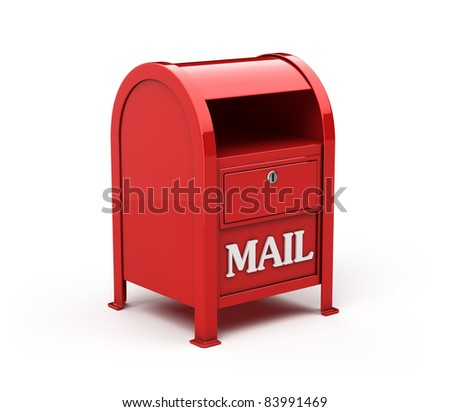 Mail box - stock photo