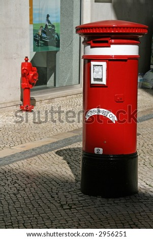mail box and - stock photo