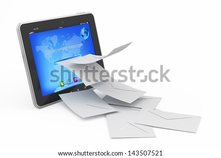 mail concept - stock photo