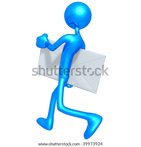 Mail Email - stock photo