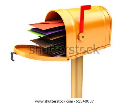 Mailbox - stock photo