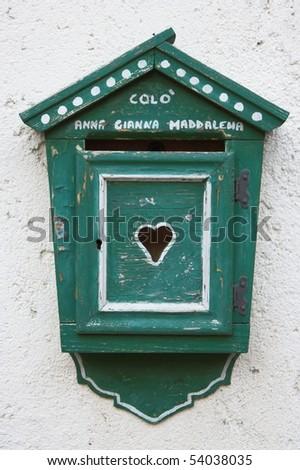 Mailbox, Italy - stock photo