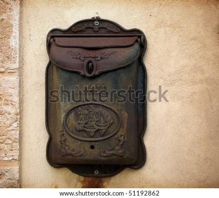 Mailbox old - stock photo
