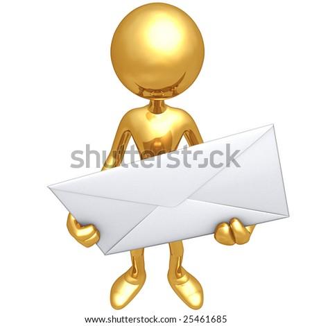Mailman - stock photo