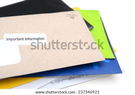 Mails - stock photo