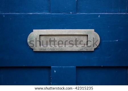 Mailslot - stock photo