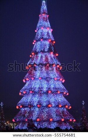 main Christmas tree