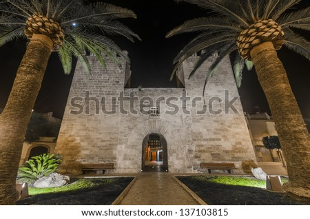 main gate of Alcudia, in Spain
