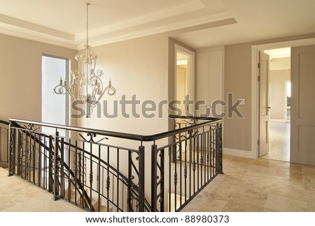 Main staircase Stock Photos, Illustrations, and Vector Art