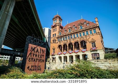 Main Street Station in Richmond VA, USA - stock photo