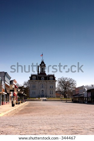 Main Street, USA - stock photo