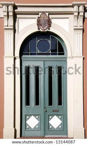 Maine entry from Victorian aera - stock photo