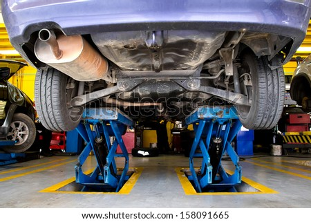 Car Maintenance Stock Images Royalty Free Images Vectors