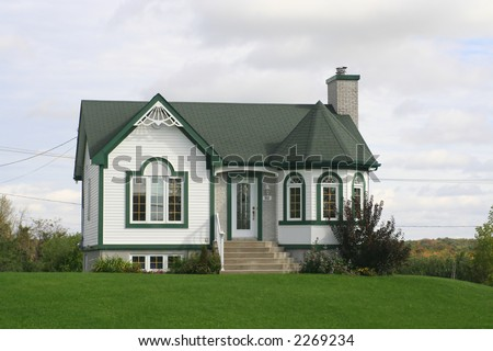 Maison Canadienne Stock Photo (Download Now) 2269234 - Shutterstock